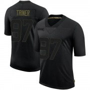 Men's Nike Tampa Bay Buccaneers Zach Triner Black 2020 Salute To Service Jersey - Limited