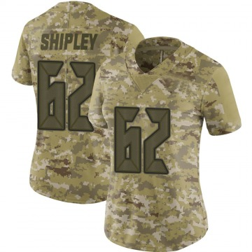 Women's Nike Tampa Bay Buccaneers A.Q. Shipley Camo 2018 Salute to Service Jersey - Limited