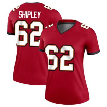 Women's Nike Tampa Bay Buccaneers A.Q. Shipley Red Jersey - Legend
