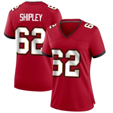 Women's Nike Tampa Bay Buccaneers A.Q. Shipley Red Team Color Jersey - Game