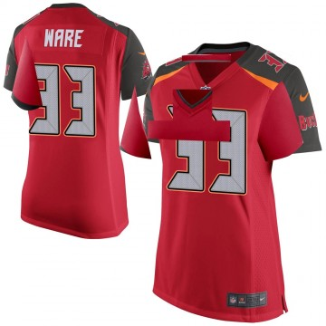 Women's Nike Tampa Bay Buccaneers Aca'Cedric Ware Red Team Color Jersey - Game