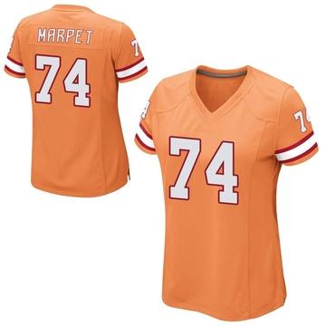 Women's Nike Tampa Bay Buccaneers Ali Marpet Orange Alternate Jersey - Game