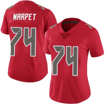 Women's Nike Tampa Bay Buccaneers Ali Marpet Red Team Color Vapor Untouchable Jersey - Limited