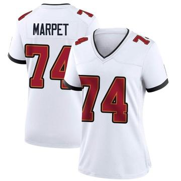 Women's Nike Tampa Bay Buccaneers Ali Marpet White Jersey - Game