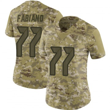 Women's Nike Tampa Bay Buccaneers Anthony Fabiano Camo 2018 Salute to Service Jersey - Limited