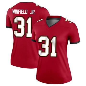 Women's Nike Tampa Bay Buccaneers Antoine Winfield Jr. Red Jersey - Legend