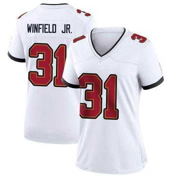 Women's Nike Tampa Bay Buccaneers Antoine Winfield Jr. White Jersey - Game