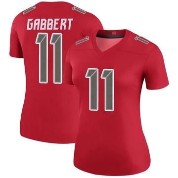 Women's Nike Tampa Bay Buccaneers Blaine Gabbert Red Color Rush Jersey - Legend