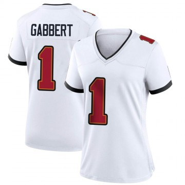 Women's Nike Tampa Bay Buccaneers Blaine Gabbert White Jersey - Game