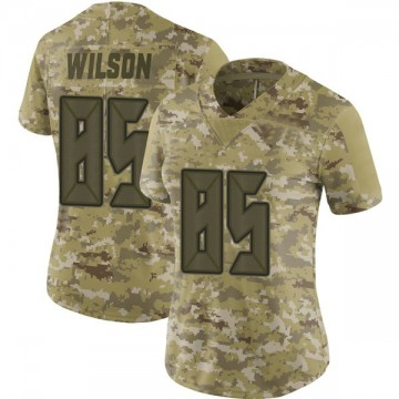 Women's Nike Tampa Bay Buccaneers Bobo Wilson Camo 2018 Salute to Service Jersey - Limited