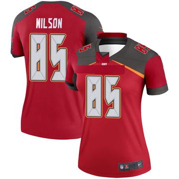 Women's Nike Tampa Bay Buccaneers Bobo Wilson Red Jersey - Legend
