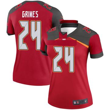 Women's Nike Tampa Bay Buccaneers Brent Grimes Red Jersey - Legend