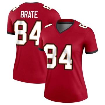Women's Nike Tampa Bay Buccaneers Cameron Brate Red Jersey - Legend