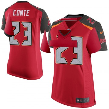 Women's Nike Tampa Bay Buccaneers Chris Conte Red Team Color Jersey - Game