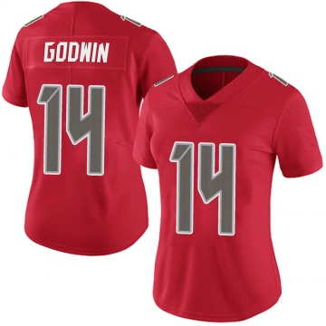Women's Nike Tampa Bay Buccaneers Chris Godwin Red Team Color Vapor Untouchable Jersey - Limited
