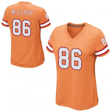 Women's Nike Tampa Bay Buccaneers Codey McElroy Orange Alternate Jersey - Game