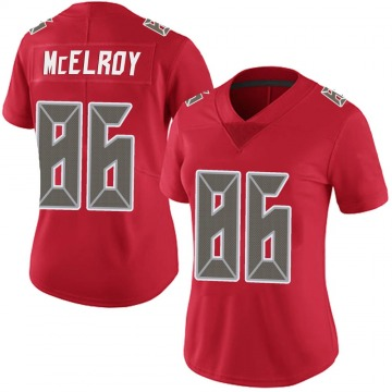 Women's Nike Tampa Bay Buccaneers Codey McElroy Red Team Color Vapor Untouchable Jersey - Limited