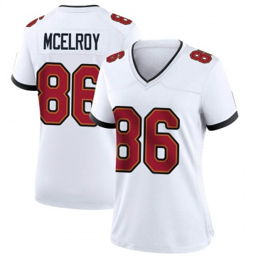 Women's Nike Tampa Bay Buccaneers Codey McElroy White Jersey - Game