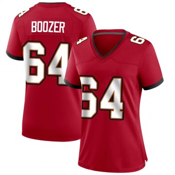 Women's Nike Tampa Bay Buccaneers Cole Boozer Red Team Color Jersey - Game