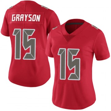 Women's Nike Tampa Bay Buccaneers Cyril Grayson Jr. Red Team Color Vapor Untouchable Jersey - Limited