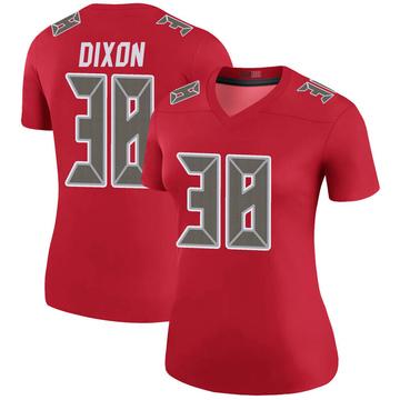 Women's Nike Tampa Bay Buccaneers D'Cota Dixon Red Color Rush Jersey - Legend