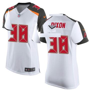Women's Nike Tampa Bay Buccaneers D'Cota Dixon White Jersey - Game