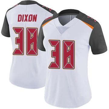 Women's Nike Tampa Bay Buccaneers D'Cota Dixon White Vapor Untouchable Jersey - Limited