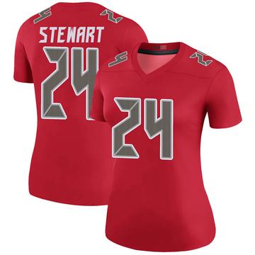 Women's Nike Tampa Bay Buccaneers Darian Stewart Red Color Rush Jersey - Legend