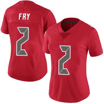Women's Nike Tampa Bay Buccaneers Elliott Fry Red Team Color Vapor Untouchable Jersey - Limited