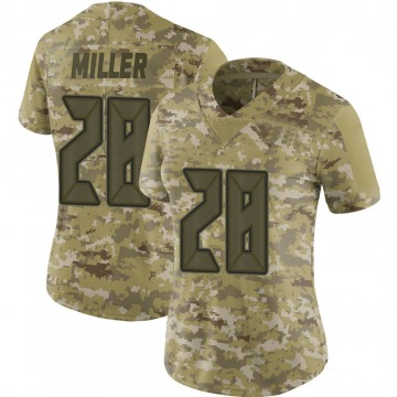 Women's Nike Tampa Bay Buccaneers Herb Miller III Camo 2018 Salute to Service Jersey - Limited