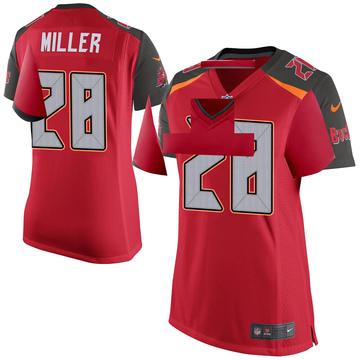 Women's Nike Tampa Bay Buccaneers Herb Miller III Red Team Color Jersey - Game