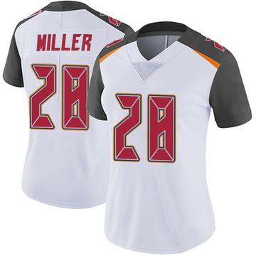 Women's Nike Tampa Bay Buccaneers Herb Miller III White Vapor Untouchable Jersey - Limited