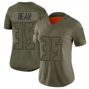 Women's Nike Tampa Bay Buccaneers Jamel Dean Camo 2019 Salute to Service Jersey - Limited