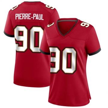 Women's Nike Tampa Bay Buccaneers Jason Pierre-Paul Red Team Color Jersey - Game