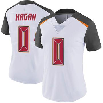 Women's Nike Tampa Bay Buccaneers Javon Hagan White Vapor Untouchable Jersey - Limited