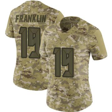 Women's Nike Tampa Bay Buccaneers John Franklin III Camo 2018 Salute to Service Jersey - Limited