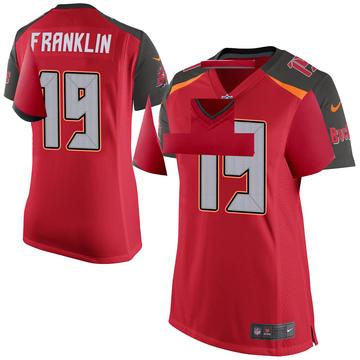 Women's Nike Tampa Bay Buccaneers John Franklin III Red Team Color Jersey - Game
