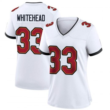Women's Nike Tampa Bay Buccaneers Jordan Whitehead White Jersey - Game