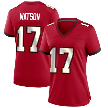 Women's Nike Tampa Bay Buccaneers Justin Watson Red Team Color Jersey - Game