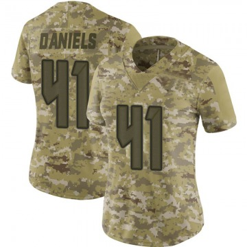 Women's Nike Tampa Bay Buccaneers Kahzin Daniels Camo 2018 Salute to Service Jersey - Limited