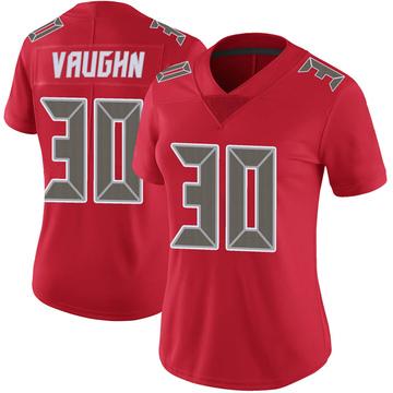 Women's Nike Tampa Bay Buccaneers Ke'Shawn Vaughn Red Color Rush Jersey - Limited