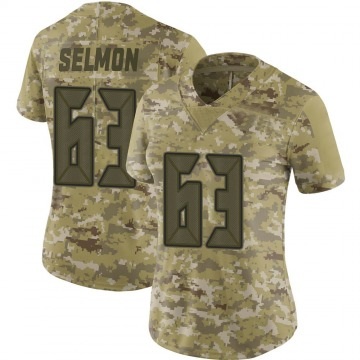 Women's Nike Tampa Bay Buccaneers Lee Roy Selmon Camo 2018 Salute to Service Jersey - Limited