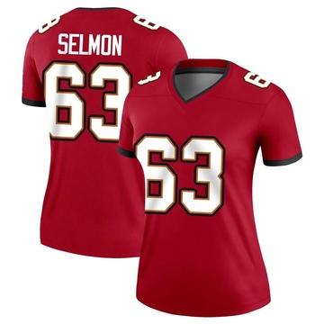 Women's Nike Tampa Bay Buccaneers Lee Roy Selmon Red Jersey - Legend