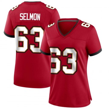 Women's Nike Tampa Bay Buccaneers Lee Roy Selmon Red Team Color Jersey - Game