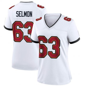 Women's Nike Tampa Bay Buccaneers Lee Roy Selmon White Jersey - Game