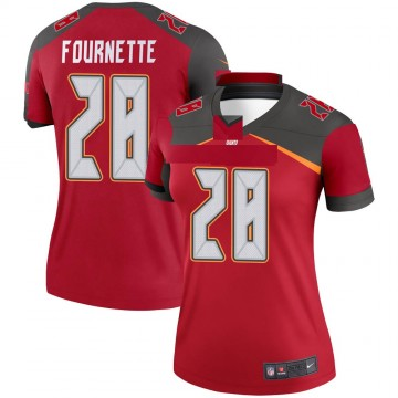 Women's Nike Tampa Bay Buccaneers Leonard Fournette Red Jersey - Legend
