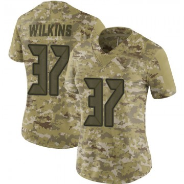 Women's Nike Tampa Bay Buccaneers Mazzi Wilkins Camo 2018 Salute to Service Jersey - Limited