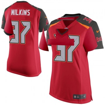 Women's Nike Tampa Bay Buccaneers Mazzi Wilkins Red Team Color Jersey - Game