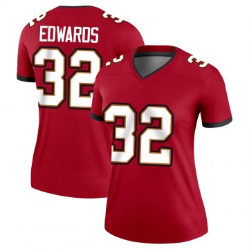 Women's Nike Tampa Bay Buccaneers Mike Edwards Red Jersey - Legend