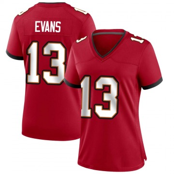 Women's Nike Tampa Bay Buccaneers Mike Evans Red Team Color Jersey - Game
